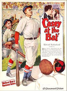 <i>Casey at the Bat</i> (film) 1927 film by Monte Brice