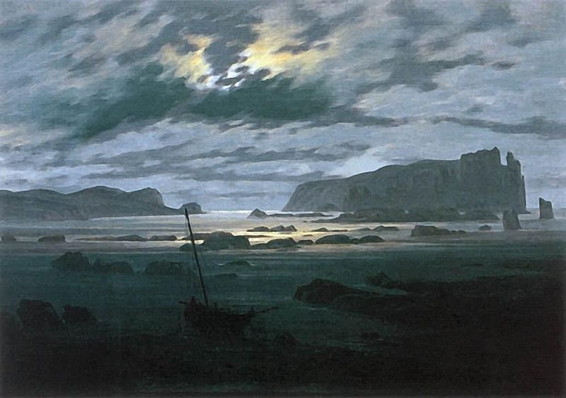 File:Caspar David Friedrich - The North Sea in Moonlight - WGA08274.jpg