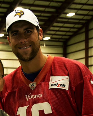 Matt Cassel - Cassel with the Minnesota Vikings in 2013