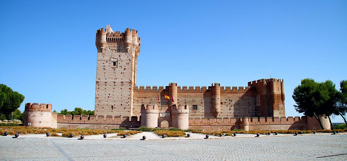 Castle of la mota wikipedia - Sofas medina del campo ...