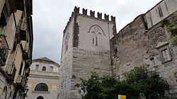 "The ""Castle of Stone"" in Capua."