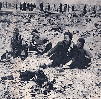 Casualty (person) - Civilian casualties in the Korea war, 1940s or 50s