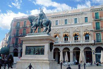 Juan Prim, 1st Marquis of los Castillejos - Image: Catalonia Reus Prim Monument