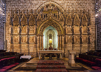 Valencia Cathedral - Chapel of the Holy Chalice.