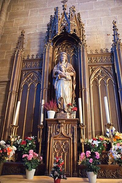 Cathédrale de Mende (Lozère) - Notre-Dame du Perpétuel Secours.