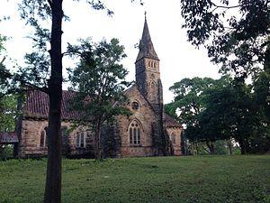Pachmarhi - Anglican Church at Pachmarhi