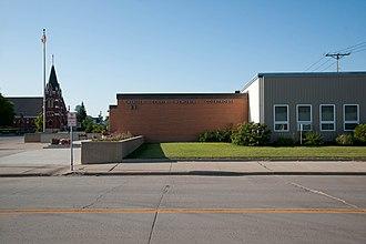 Cavalier County, North Dakota - Image: Cavalier County Courthouse