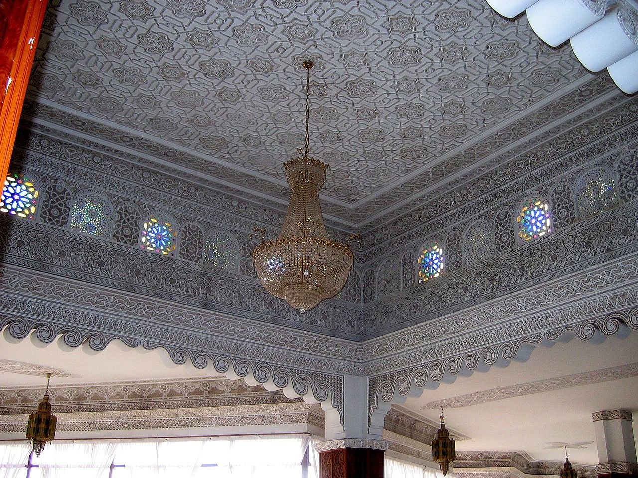 File Ceiling In Agadir Jpg Wikimedia Commons