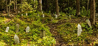 Skagway, Alaska - Gold Rush Cemetery