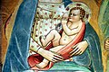 Cenni di Francesco di ser Cenni, Vergine che allatta il Bambino circondata dalle Virtù cardinali e teologali 11.jpg