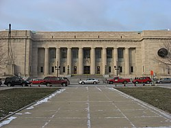 Central Library (Indianapolis-Marion County Public Library) from War Memorial Plaza.jpg