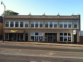 National Register of Historic Places listings in Boone County, Missouri - Image: Central dairy building Co Mo