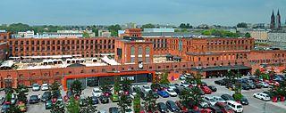 Retail park Unenclosed shopping area