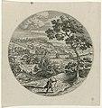 Cephalus op jacht Cephalus en Procris (serietitel), RP-P-OB-6633.jpg