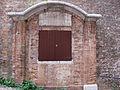 Cesena, rocca malatestiana, salita alla rocca, tabernacolo.JPG