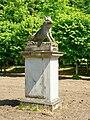 Château de Chantilly, petit parc, salle du sanglier, sculpture du sanglier.jpg