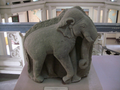 Cham stone elephant statue.png