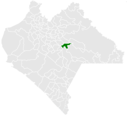 Municipality of Chanal in Chiapas