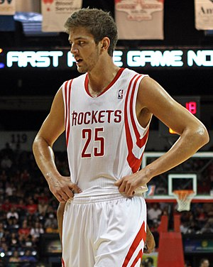 Chandler Parsons - Parsons with the Rockets in October 2012
