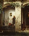 Chantilly (60), musée Condé, Alexandre Gabriel Decamps, Enfants turcs auprès d'une fontaine 2.jpg