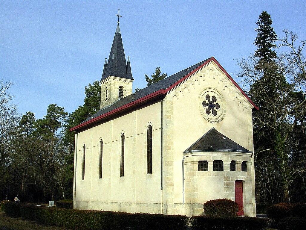 Église Sainte-Eugénie de Solférino (avant l'accident) sur Wikipedia