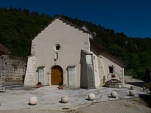 Lect, Jura - Image: Chapelle de Lect