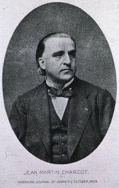 Il neurologo francese Jean-Martin Charcot, che contribuì alla comprensione della malattia e ne propose l'intitolazione al collega James Parkinson