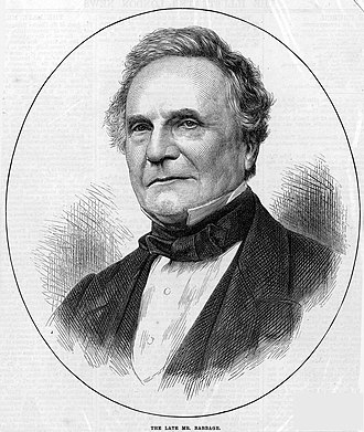 Charles Babbage - The Illustrated London News (4 November 1871).