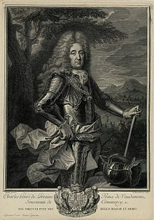 Charles Henri de Lorraine, Prince of Vaudémont, Sovereign of Commercy, 1708.jpg