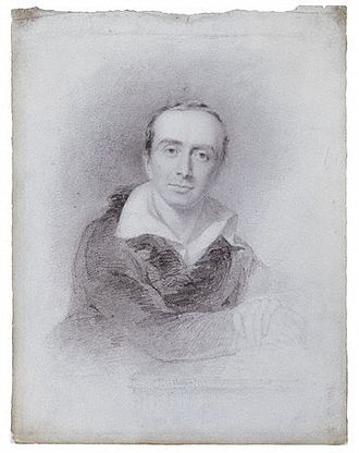 Charles Lock Eastlake - Charles Eastlake in a pencil sketch by John Partridge, 1825.