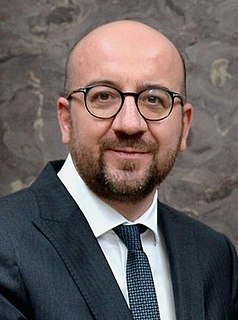 Charles Michel Belgian politician, former Prime Minister of Belgium, President of the European Council
