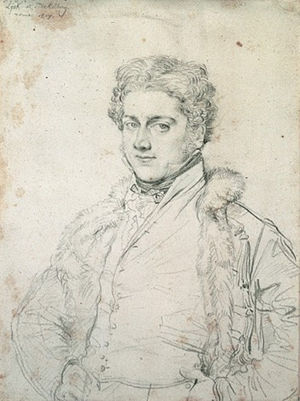 Charles Robert Cockerell - Charles Robert Cockerell (portrait by Ingres, 1817)