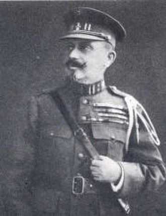 Commemorative Medal of the 1914–1917 African Campaigns - Lieutenant General Charles Baron Tombeur de Tabora, a recipient of the Commemorative Medal of the 1914–1917 African Campaigns