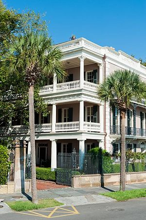 Edmondston–Alston House - Image: Charleston, SC Edmondston Alston House