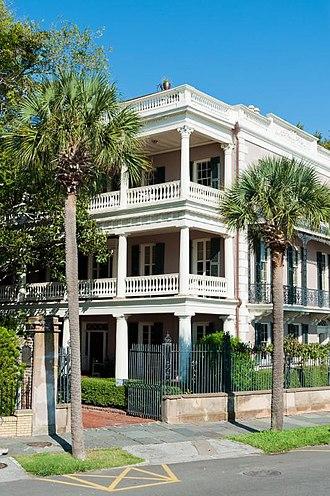 Edmondston–Alston House - Image: Charleston, SC Edmondston Alston House
