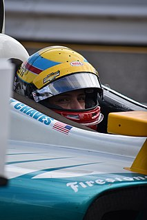 Gabby Chaves American racing driver