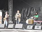 Cheesy Bubblegum band performing at Cowes Week 2011 2.JPG