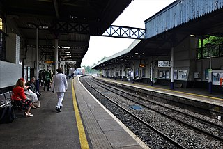 Cheltenham Spa railway station Railway station in Gloucestershire, England