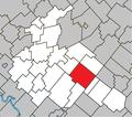Chesterville Quebec location diagram.png