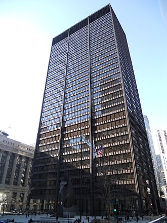 Circuit Court of Cook County - Daley Center is the central court house, and one of six courthouses for the County