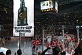 Chicago Blackhawks Stanley Cup Banner Ceremony (5104270258).jpg