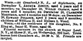 Children of William Henry Wood Jr. and Melissa Alvina Hodge deaths from diphtheria reported in the New-York Herald on December 21, 1880.png