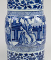 Chinese - Pair of Vases with European Women - Walters 491913, 491914 - Detail D.jpg