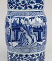 Chinese - Pair of Vases with European Women - Walters 491913, 491914 - Detail D.jpg