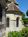 Choisy-au-Bac (60), église de la Sainte-Trinité, absidiole nord.JPG
