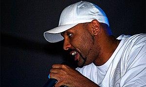 El Chojin - El Chojín rapping at Azuqueca de Henares.