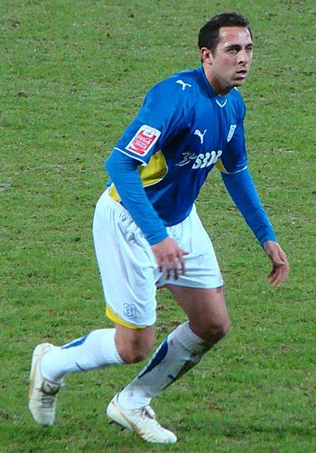 English: Photo of footballer Michael Chopra