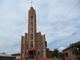 Christ the King church in Marks, Russia.jpg