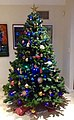 Christmas tree with gifts in a private residence in Brisbane in December 2014.jpg