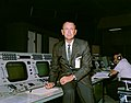 Christopher Kraft at Flight Director Console.jpg